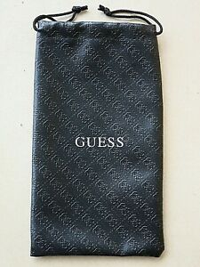 GUESS Water Resistant Glasses /Phone Drawstring POUCH WALLET 19.5 x 11 cm