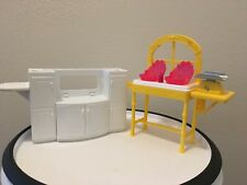 EUC Barbie Twin Baby Changing Table 2013 & White Dresser w/ 2 doors that open***