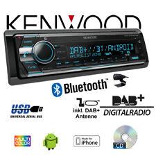 Kenwood KDC-X7200DAB DAB+ Bluetooth CD 2xUSB hinten iPhone/Android Autoradio KFZ