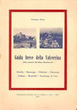 Negro - Guida breve della Valcerrina - Alla scoperta del Basso Monferrato 1974