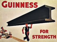 Guinness Retro Beer Pub Shed Bar Man Cave Metal Aluminium Vintage plaque SIGN