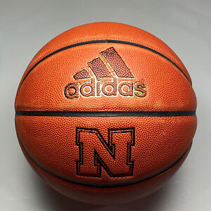 2016 Nebraska Cornhuskers Game Issued Adidas Pro NCAA Basketball 29.5 Big Ten