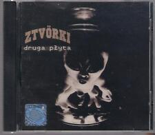 ZTVORKI - DRUGA PLYTA 1999 SP RECORDS TOP RARE OOP CD POLSKA POLAND POLEN