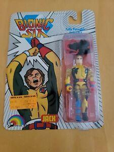 1986 Vintage Bionic SIX 6 Jack Figure  MOC LJN Toys Diecast