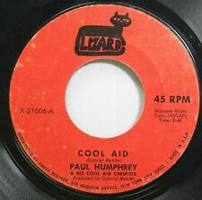 Rock 45 Paul Humphrey - Cool Aid / Detroit On Lizard