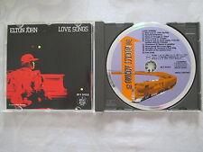 Elton John - Love Songs - Rocket Target CD West Germany no ifpi full silver