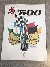 2015 Indianapolis 500 and Grand Prix Programs