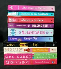 10 Paperback Books by Meg Cabot  Princess Diaries, All American, Jinx +