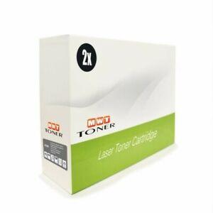 2x Cartridge Black XXL For Dell H-625-cdw H-825-cdw S-2825-cdn