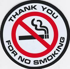 No Smoking Vinyl Sticker Decal Warning Safety Sign Store Office Building Home #5