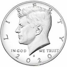 2020 S Silver Kennedy Half Dollar Deep Cameo Gem Proof