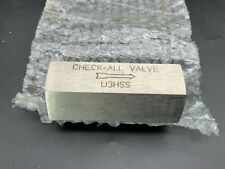 316 Stainless Steel Universal Low Pressure Check Valve 1 Female Npt U3hss