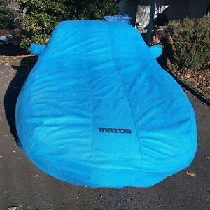 Genuine Mazda NA Miata Car Cover Blue  1990-1997 OEM - RARE