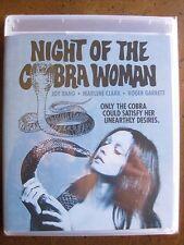 NIGHT OF THE COBRA WOMAN (1972) (Blu-Ray) SCORPION - BRAND NEW, FACTORY SEALED!!