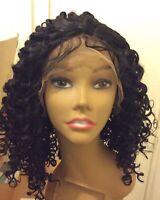 Longue Dentelle Avant Perruques De Cheveux Pour Les Femmes Noires Deep Curly