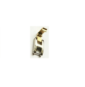 4mm Watch Bracelet Extender Strap Extension Clasp TWO TONE Silver Gold