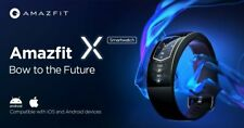 Amazfit X Curved Smartwatch - Bow to the Future [ iOS / Android ] NEW