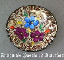 B2017587- Grand plat en céramique Hubert Bequet - Quaregnon - Belgique