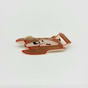 Budweiser U-1 Large Hydroplane Boat Racing Pin Enamel 1983 Simpson Australia EUC