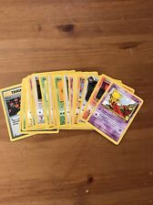 Pokemon Wotc Team Rocket Complete Common Card Set