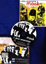 MODA' ● RARO CD 12 Tracce ● TI AMO VERAMENTE ● Kekko SILVESTRE ● NEW MUSIC 2005