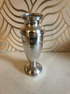 Beautiful Vintage Silver Plated Vase