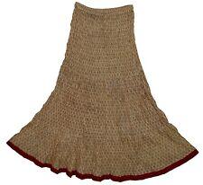 Indian COTTON skirt jupe rok Boho falda kjol ethnic Hippy WOMEN EHS Gypsy RETRO