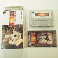 Front Mission Complete in Box CIB (Nintendo Super Famicom, 1995)
