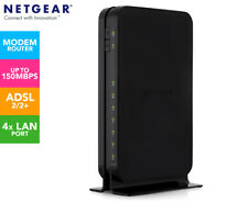 CHEAP!! NO RESERVE! Netgear DGN1000v3 N150 Wifi ADSL2+ Modem Router: FREE filter