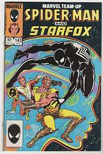 Marvel Team-Up #143 (Jul 1984, Marvel) Black Costume LOT (7) Spider-Man Starfox