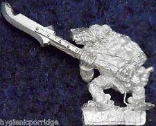1998 SKAVEN Esclavo con lanza 2 caos ratmen Citadel Warhammer army clanrat GW