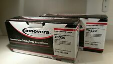 Lot of 2 TN530 Brother Toner by Innovera - Monochrome Laser - NEW SEALED