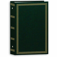 "Pioneer STC-504 Pocket 3-Ring Binder Album Hunter Green- Holds 504 4x6"" Photos"