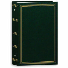 "Pioneer Stc-504 Pocket 3-Ring Binder Album Hunter Green- Holds 504 4x6"" Photos"