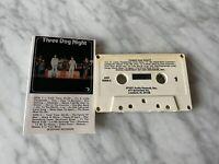 Three Dog Night Self Titled CASSETTE Tape 1977 ARI 1004-C J Chuck Negron RARE!
