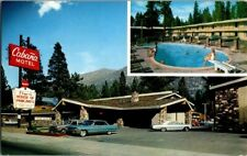 1960'S. CABANA MOTEL. SOUTH LAKE TAHOE, CA. POSTCARD SC6