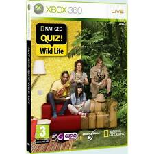 Pal version Microsoft Xbox 360 NatGeo Quiz Wild Life
