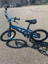 Huffy 53068 20 inch Radium Metaloid Bmx-Style Boys Bike - Blue