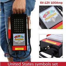 6V-12V Car Van Battery Tester Load Drop Charging System Analyzer Checker New