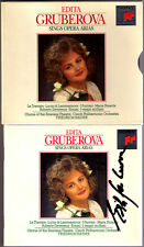 Edita GRUBEROVA Signed BELLINI DONIZETTI VERDI Traviata I Puritani Maria Stuarda