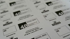 1000 ROYAL MAIL  PPI Labels & Return Address or web address 48 SERVICE