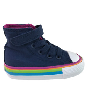 Converse Chuck Taylor All Star Street Mid infant Shoes Blue-White 768861f size 3