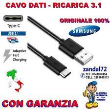 CAVO DATI RICARICA USB 3.1 TYPE-C ORIGINALE SAMSUNG GALAXY A3 A5 A7 PRODUZ. 2017
