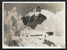 EAST RONGBUK GLACIER Ice Pinnacle 1924 British Expedition MOUNT EVEREST POSTCARD