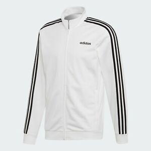 adidas Men's Essential 3-Stripes Tricot Track Jacket EB3989