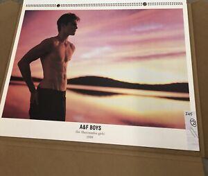 Bruce Weber Printer's Proof: Abercrombie & Fitch Calendar - Unnumbered - Rare