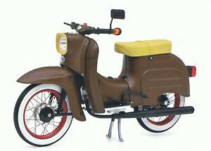 Simson Kr 51/1 schwalbe, sur Mesure, Schuco Moto Modèle 1:10, 450663600