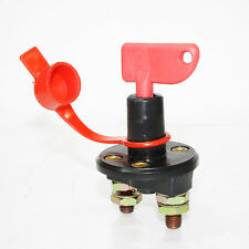 Battery Isolator Switch Power Kill Cut Off Disconnect On Off Key Car Van Boat