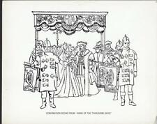 Anne of the Thousand Days 1969 coronation scene artwork movie photo 34974