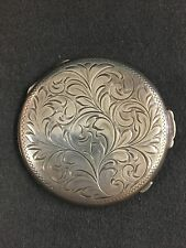New listing Sterling Silver Make Up Compact Case